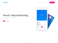 Homepage   revolut website