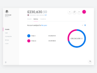 Revolut for business   summary   pie chart