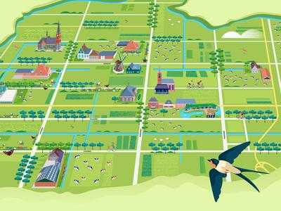 Map of De Beemster