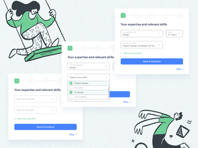 Registration form design progress input field input typography ux web modern ui design registration registration page registration form trend form ui