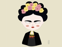 Illustrating Frida Kahlo