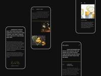 Mobile lemon landing page
