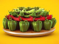 3D Vegetables