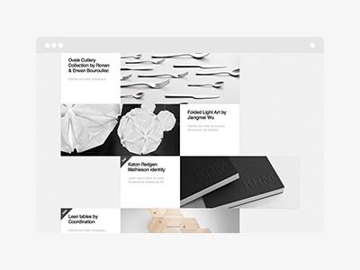 Slurp WordPress Theme wordpress theme themeforest portfolio minimalistic grid