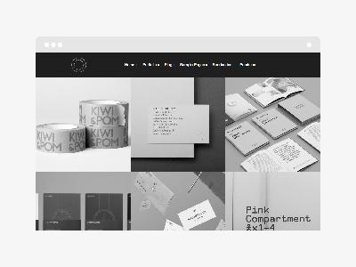 Kult WordPress Theme wordpress theme themeforest portfolio grid square minimalistic minimal