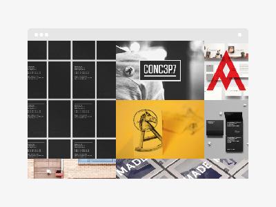 Mug WordPress Theme minimal minimalistic square grid portfolio themeforest theme wordpress