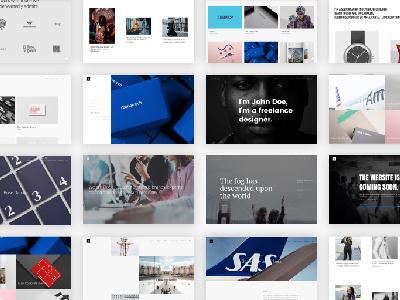 Dope WordPress Theme modern minimal masonry freelance creative clean blog agency grid portfolio visual composer