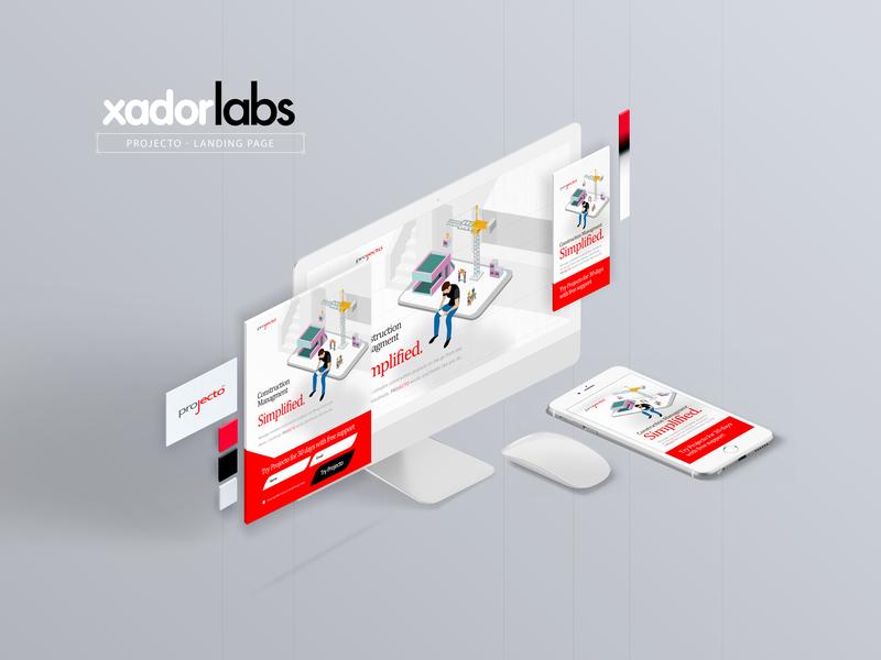 Projecto instapage digitaladvertising digitalmarketing leadgeneration design ui branding landingpagedesign landingpage