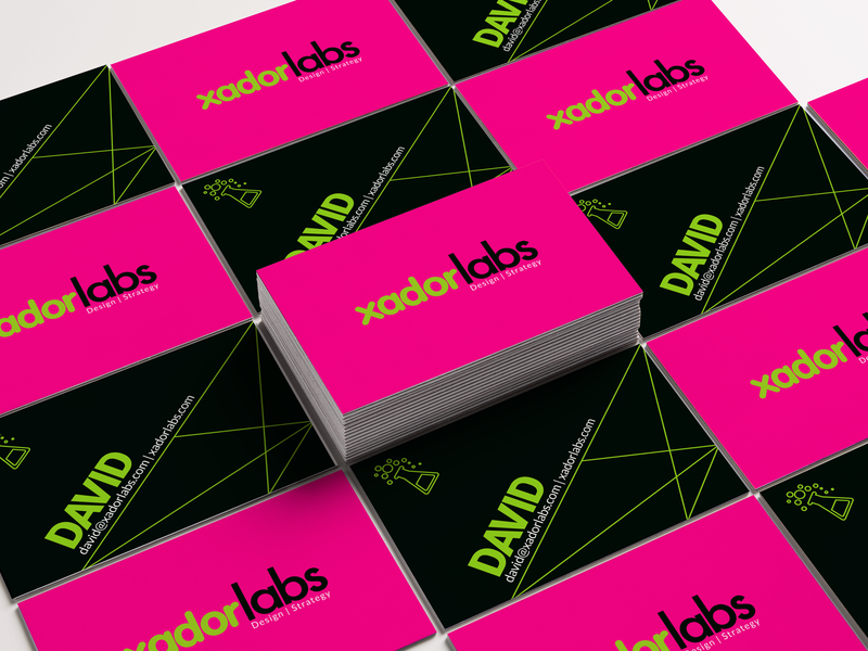 Business Cards : xadorlabs personal branding businesscard business card design typography logo design branding