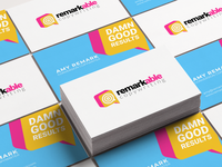 Remarkable Copywriting - Logo & Business Cards