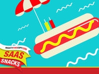 SaaS Snacks motion graphics intro