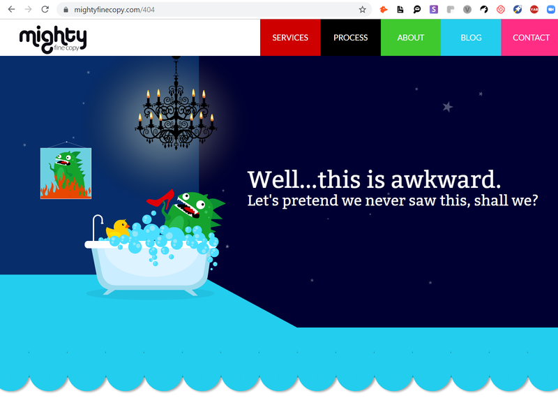 Good times! 404 Error Fun ux website illustration ui design branding