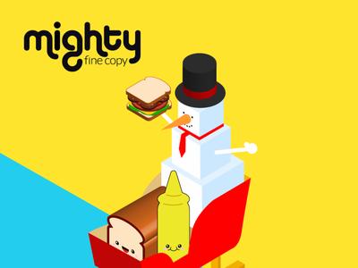 Mighty Fine Copy - SaaS & B2B Conversion Copywriter character design illustration webflow personal branding copywriter conversion b2b saas