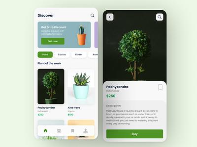 Plant Shop App figma branding concept worldwide branding design branding uiuxdesign mobile app design mobile app uiux ui  ux user interface ui design uidesign ui design