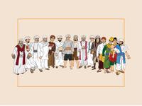 Sang Pembuka: All Characters