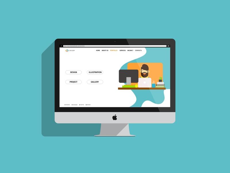 SKYLOOP STUDIO: Web Design web design