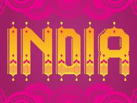 India Typography