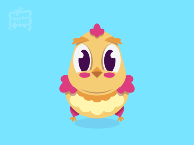 Vector Baby Chicken game art game design easter character design happy bird icon game assets 2d art flat vector art illustration illustrator vector cute art cute bird vector bird bird chicken logo chick chicken