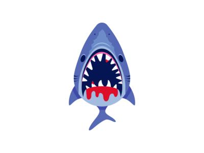 Flat Vector Shark sharks fish indie game dev game asset game assets indie game unity flat art illustration illustrator vector illustration vectorart shark game art flat icon character vector icon game flat