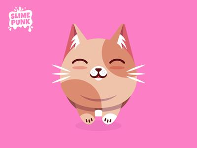 Flat Vector Cat