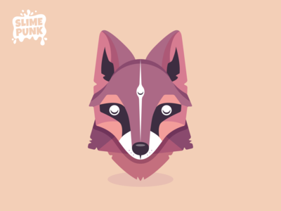 Mystic Fox Vector Art illustrator logo 2d art unity indie game dev indiegame illustration characterdesign game assets game vectorart vector animal flat icon spirit moon mystic dog fox