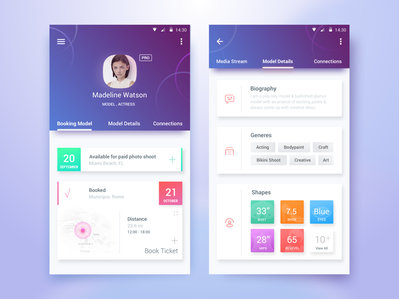Talent Portal App By Rifayet Uday Dribbble