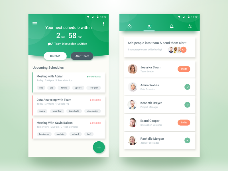 team schedule app by rifayet uday dribbble