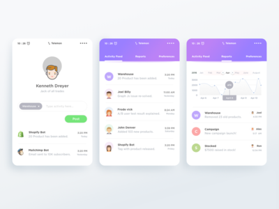 Team Activity Tracker App google material design team app google google design material design color creative ios app android schedule activity shopify
