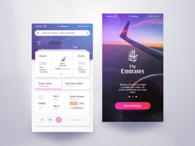 Fly Emirates Booking App dhaka bangladesh airport android ticket qatar ryanair etihad flight booking material design emirates fly emirates