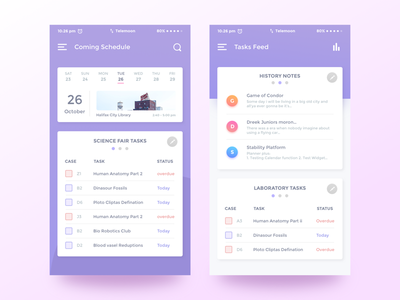 College Task App bangladesh shopify activity schedule android ios app color material design google design google team app google material design