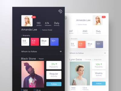 Social Portal App party apple creative flat ux model ios app design app portfolio ios ui social