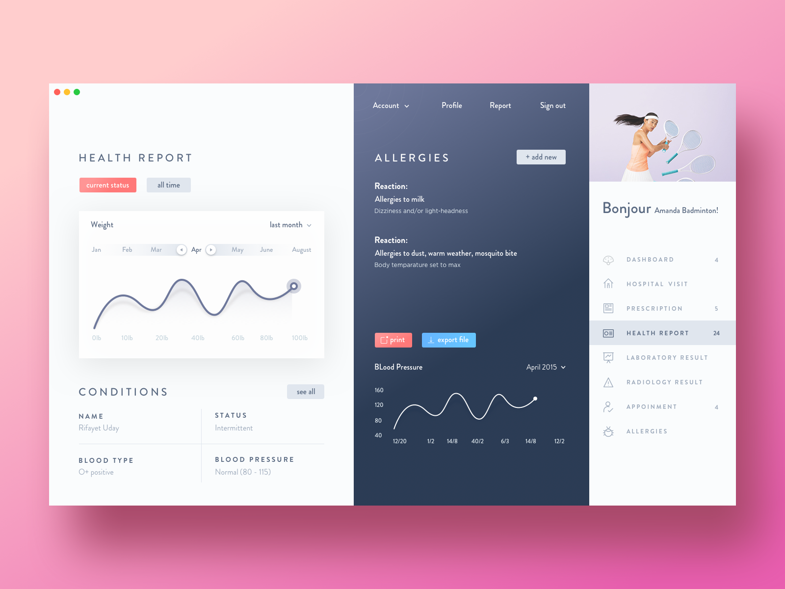 Healthcare dashboard v2