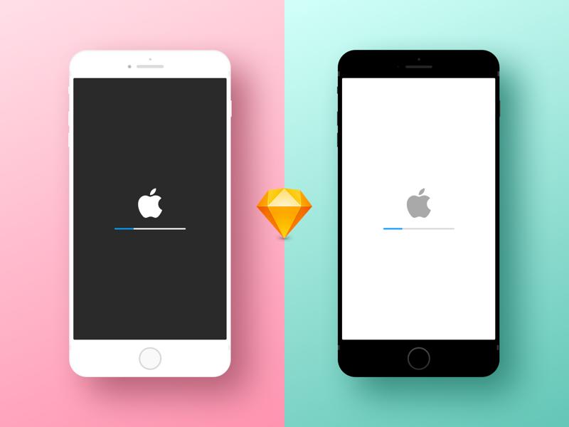 Freebie Minimal iPhone Device Mockup