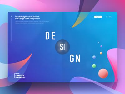 Design Goes to Heaven design gradient google google design dashboard website dubai uber bangladesh emirates lyft
