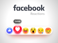 Facebook Gradient Emoji Set