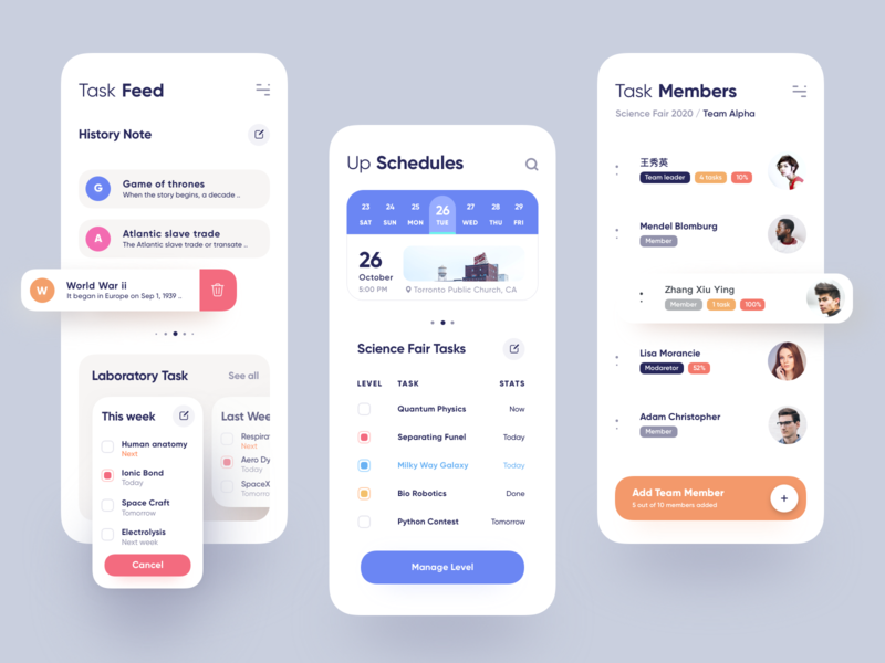 iTask App 2020 website design medical app emirates uber google design materialdesign latest design colorful design colorful app dashboard design dashboard saas cms car app branding apple android app 图标 应用 设计
