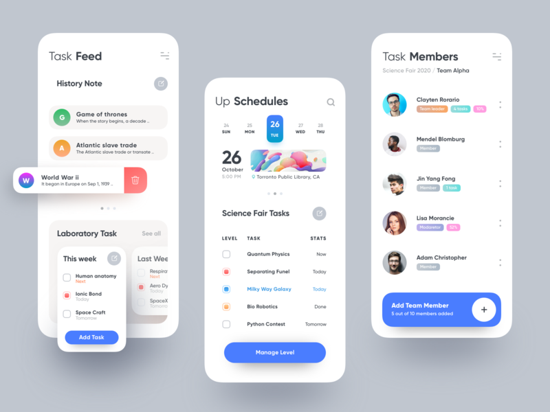 iTask App v2 website design uber saas medical app material design latest design google design emirates dashboard design colorful app colorful design dashboard cms car app branding apple android app 图标 应用 设计