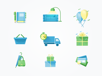 First icon set