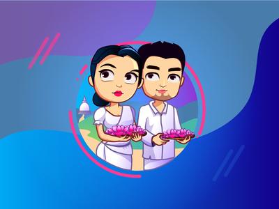 Sri Lanka Festival illustrations