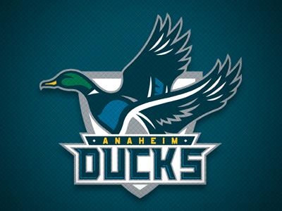 Anaheim Ducks Concept anaheim ducks logo hockey concept sports