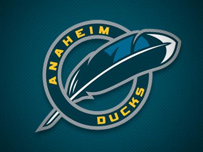 Anaheim Ducks Concept Shoulder anaheim ducks logo hockey concept sports