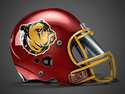 Ferris State Bulldogs Concept Helmet By Chad B Stilson Dribbble
