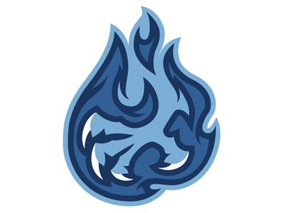 Knuckle Burner Talon sports fire illustration design vector phoenix identity brand logo