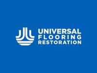 Universal Flooring Restoration Horizontal Logo
