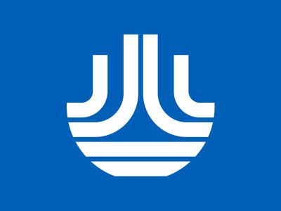Universal Flooring Restoration Icon Logo utilitarian lines thick minimal design vector type identity brand logo