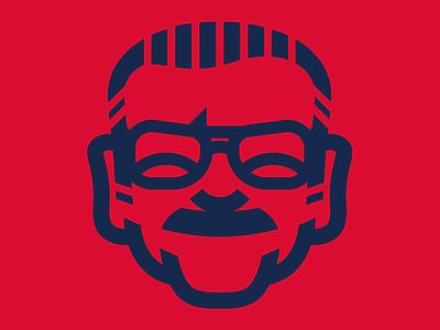 Stan Lee minimal art minimalist marvelcomics identity logo nuff said excelsior marvel stan lee
