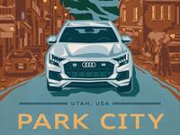 Park City Audi Poster