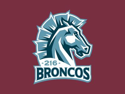 216 Broncos Main Logo