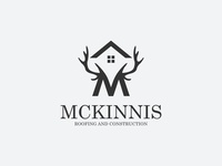 Logo Design For Mckinnis Roofing   Construction