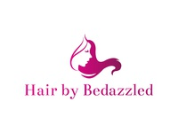 Logo design for a beauty saloon named hair by bedazzled